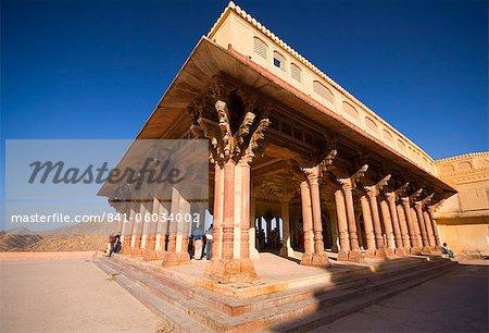 Amber Fort, près de Jaipur, Rajasthan, Inde, Asie