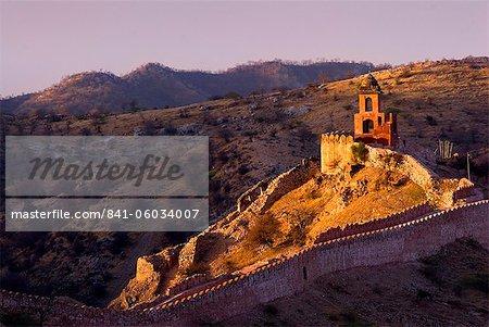 Fort d'Amber, Jaipur, Rajasthan, Inde, Asie
