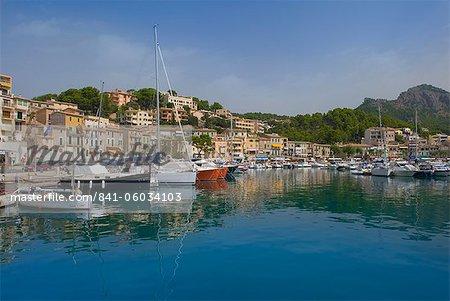 Port De Soller, Majorque, îles Baléares, Espagne, Méditerranée, Europe