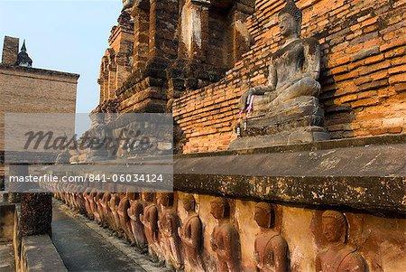 Sukhothai Historical Park, UNESCO World Heritage Site, Sukhothai Province, Thailand, Southeast Asia, Asia