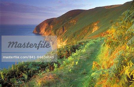 Countisbury Hill, Exmoor National Park, Devon, England, United Kingdom, Europe