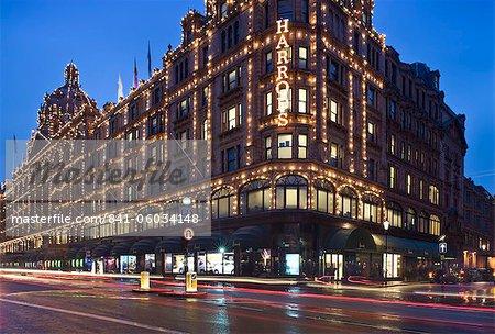 Harrods, Kensington, Londres, Royaume-Uni, Europe