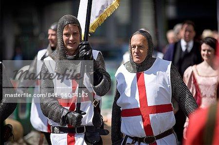Célébrations de la fête de Saint-Georges en 2010, Londres, Royaume-Uni, Europe