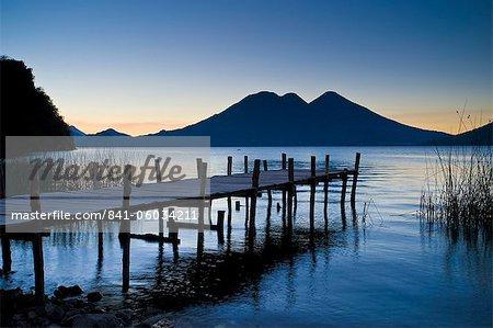 Lake Atitlan, Western Highlands, Guatemala, Central America