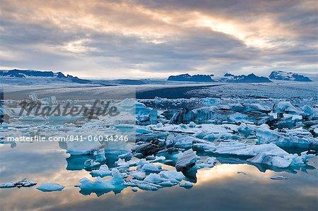 Jokulsarlon, Süden von Island, Island, Polarregionen