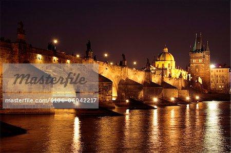 Pont Charles, la rivière Vltava, Prague