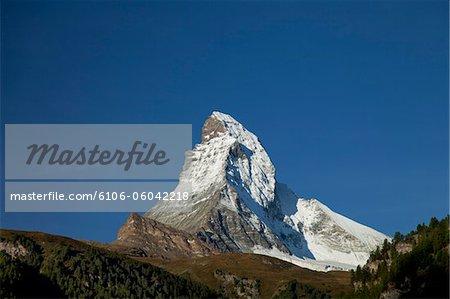 First snow on Matterhorn