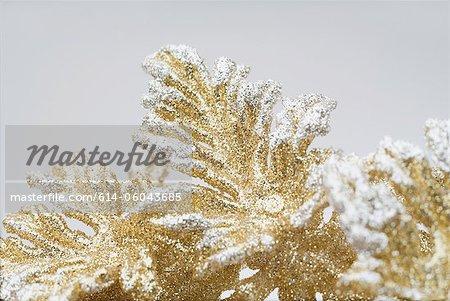 Gold Weihnachtsschmuck