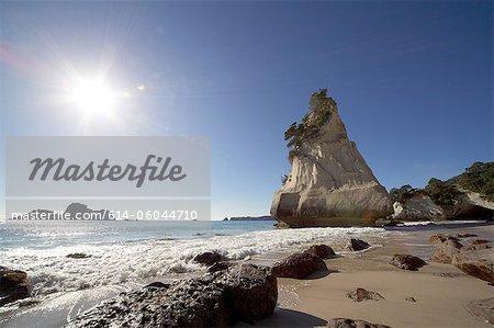 Te Whanganui-A-Hei (cathédrale Cove), Nouvelle-Zélande