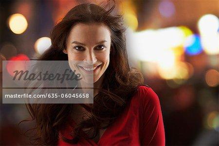 Porträt der lächelnde Frau