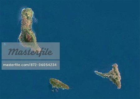 Comoros, True Colour Satellite Image