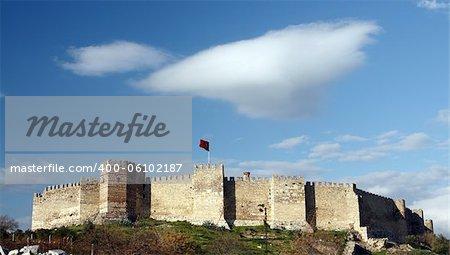 The citadel on Ayasuluk Hill, Selcuk castle, Turkey