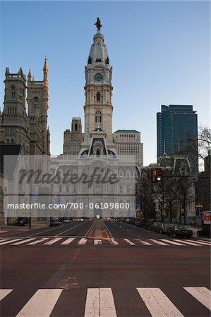 Hôtel de ville, Philadelphie, Pennsylvanie, Etats-Unis
