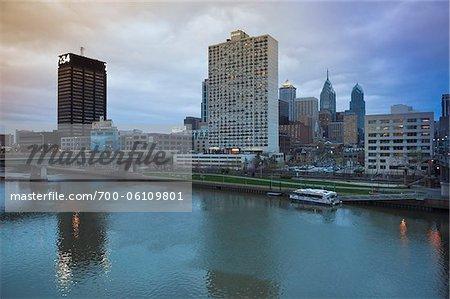 Stadtansicht, Philadelphia, Pennsylvania, USA