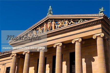 Musée de Philadelphie d'art, Philadelphie, Pennsylvanie, Etats-Unis