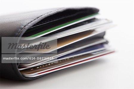 Portefeuille de cartes de crédit