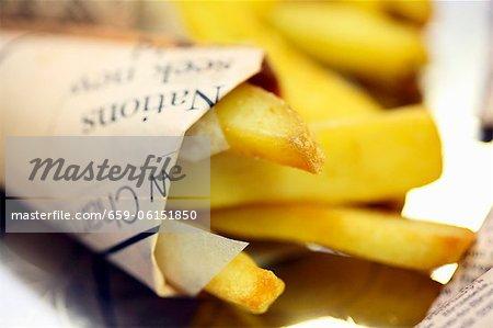 Chips dans le journal