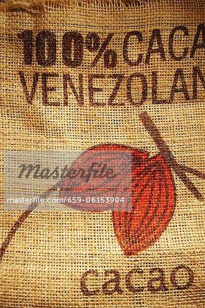 Kakao Jute Tasche aus Venezuela