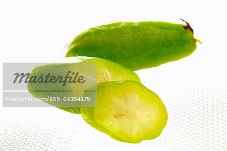 Bilimbi (fruits de verger de concombre, Thaïlande)