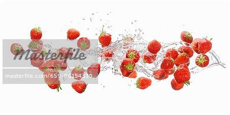 Erdbeeren machen Furore