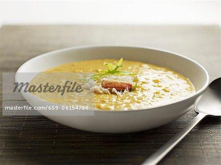 Krabbe Corn chowder