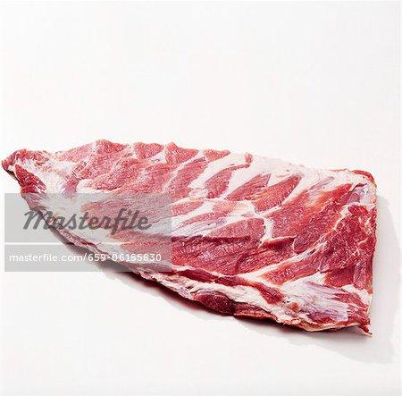 Côtes levées de porc