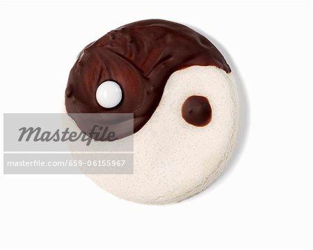 Ein Yin-Yang-Keks