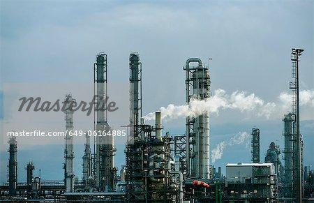 Infrastructure de l'usine de produits chimiques