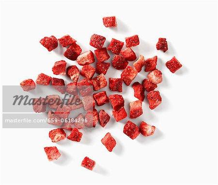 Dried strawberries