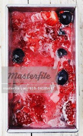 Homemade Berry Sorbet