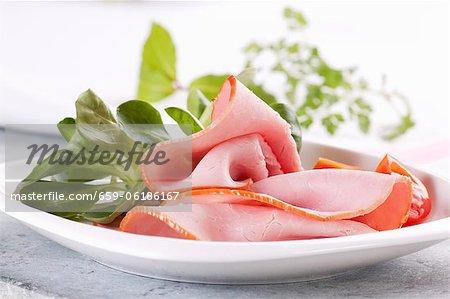 Jambon au cresson