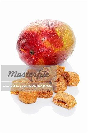 Mango, fresh and dried