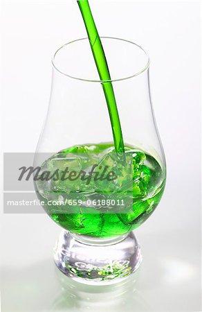 Mini liqueur sur glace