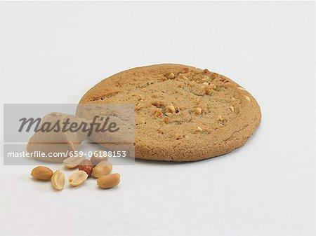 Peanut Butter Cookies mit Erdnussbutter und Erdnüssen