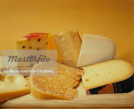 Différents types de fromage hollandais