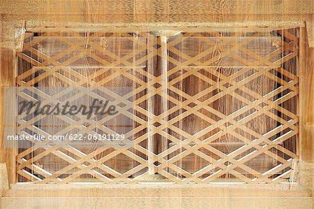 Window Lattice, Wood