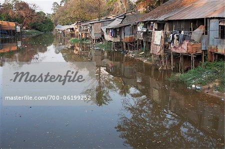Sites palafittiques, Siem Reap, Cambodge