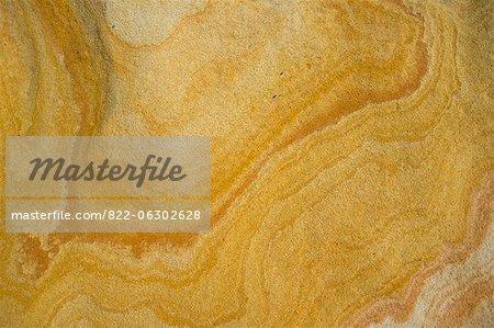 Detail der Kalkstein-Felsen-Oberfläche