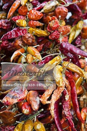 Piments séchés (full frame)