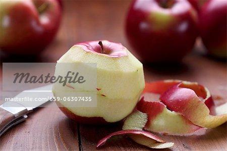 Pommes pelées
