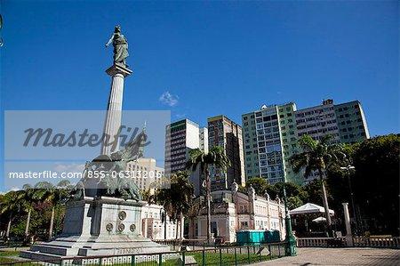 Praça da República, Belém, Pará, Brésil