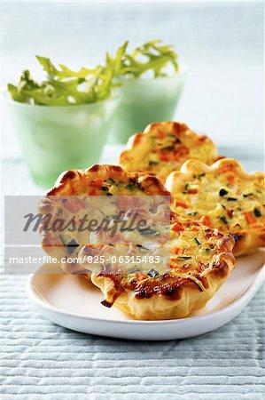 Mini Gemüse-Quiche