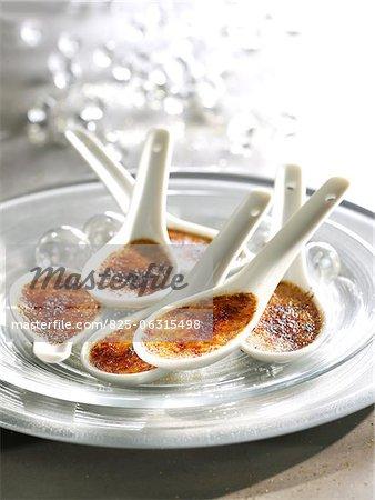 Petit foie gras Crèmes brûlées