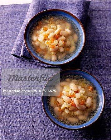 Soupe de haricots blancs de Paimpol