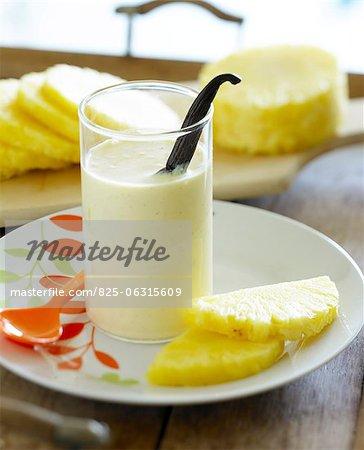 Milk-Shake ananas et vanille