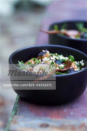 Taboulé de quinoa et de figues