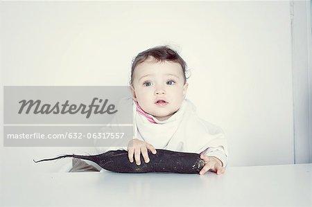 Säuglings- und Wurzel Gemüse, Porträt