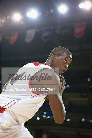 Joueur de basket-ball basketball