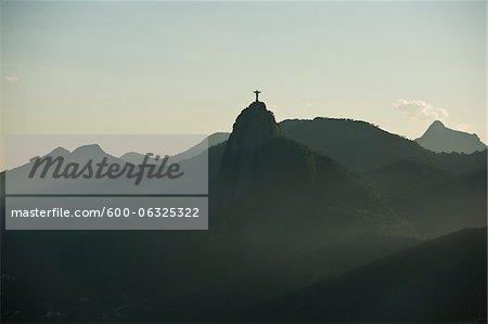 Christ the Redeemer on Corcovado Mountain, Rio de Janeiro, Brazil