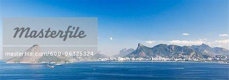 Cityscape of Rio de Janeiro, Brazil